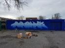 Graffiti am Fahrradstand